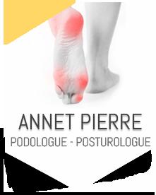 ANNET Pierre, Podologue